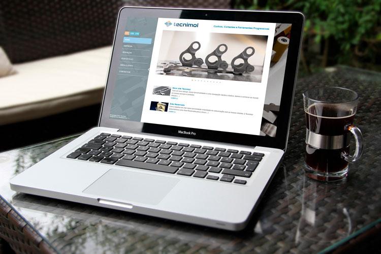 Apresentação de novo website tecnimold