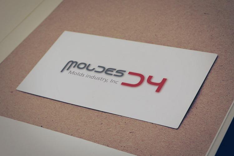 Identidade corporativa Moldes D4