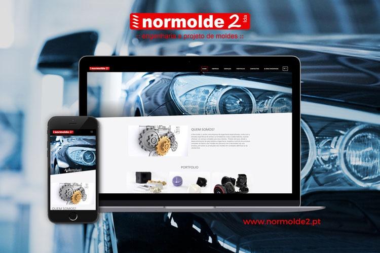 Apresentação de website Normolde2