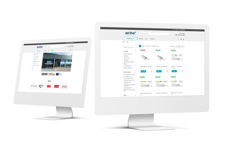Apresentação do novo website da Arita (Institucional e E-commerce)