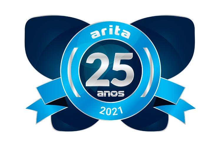 Logotipo 25 Anos Arita