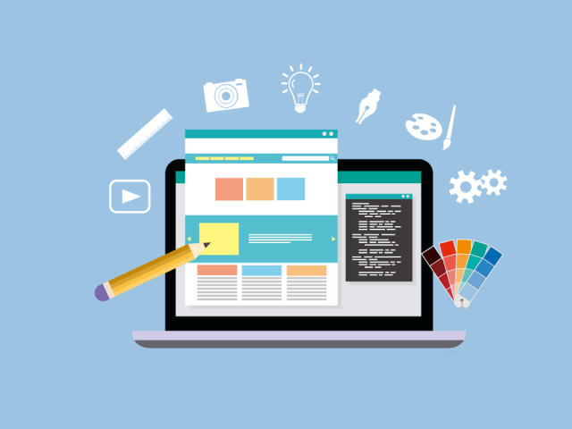 webdesign vector