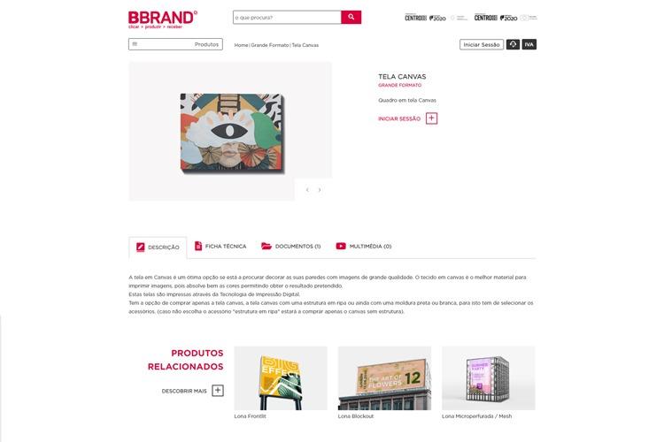 Nova loja online BBrand